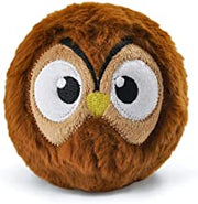 HugSmart Pet Owl 2 in 1 Zoo Ball with Dura Guard Dog Toy