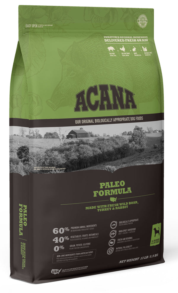 Acana Heritage Paleo Dry Dog Food