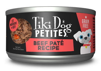 Tiki Pet Petites Pate 3oz Canned Dog Food