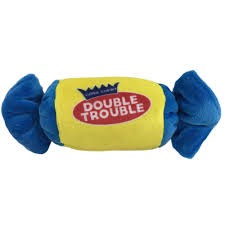 Lulubelles Power Plush Double Trouble Dog Toy