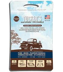 Tucker's Pork, Bison, & Pumpkin Raw Frozen Dog Food
