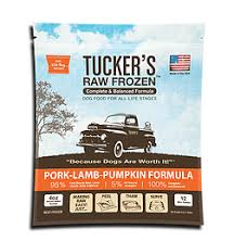 Tucker's Pork & Lamb Raw Frozen Dog Food 3LB - Paw Naturals