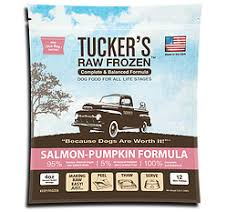 Tucker's Salmon & Pumpkin Raw Frozen Dog Food 3LB - Paw Naturals