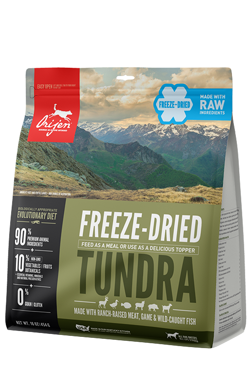 Orijen Freeze-Dried Tundra Dog Food