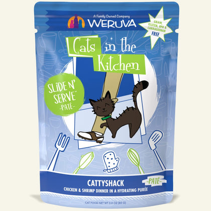 Weruva Cats in the Kitchen Slide N' Serve Wet Cat Food Pouch 3oz