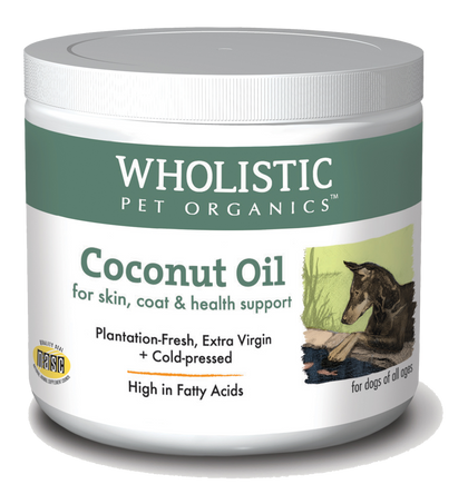 Wholistic Pet Organics Coconut Oil - Paw Naturals