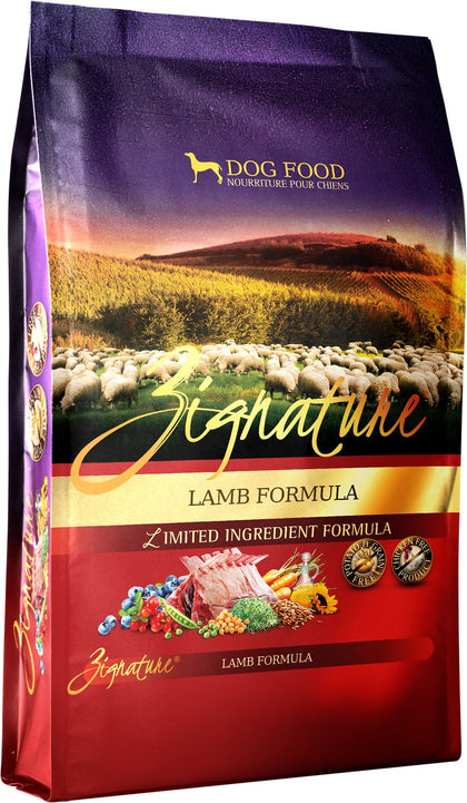 Zignature Lamb Dry Dog Food 13.5LB - Paw Naturals