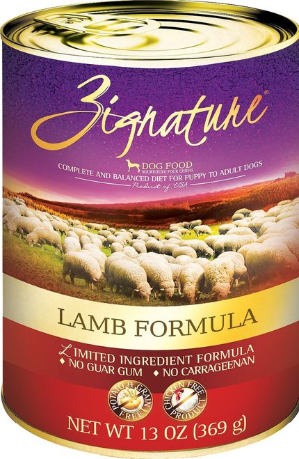 Zignature Lamb 13oz Canned Dog Food