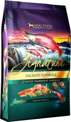 Zignature Salmon Dry Dog Food 13.5LB - Paw Naturals