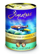Zignature Whitefish 13oz Canned Dog Food - Paw Naturals