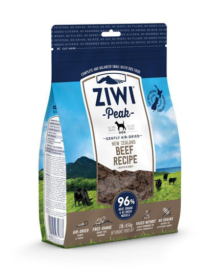 Ziwi Peak Air-Dried Beef Dog Food 16oz - Paw Naturals