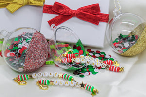 Custom Christmas Keychain Gift Set