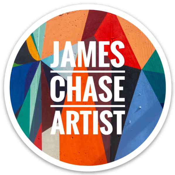James Chase Artist sticker