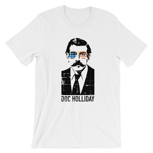 Doc Holliday 'Merica Sunglasses - Short-Sleeve Unisex T-Shirt