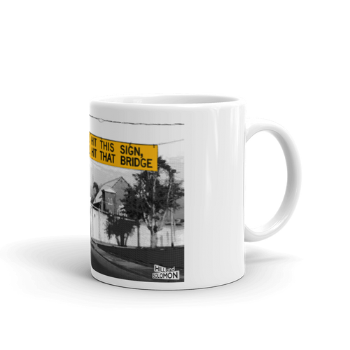 Historic Bridge Sign Mug