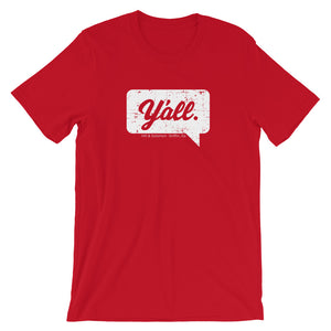 Y'all Short-Sleeve Unisex T-Shirt