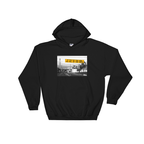 Bridge Sign Hooded Sweatshirt