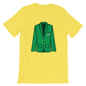 Augusta Green Jacket Short-Sleeve Unisex T-Shirt
