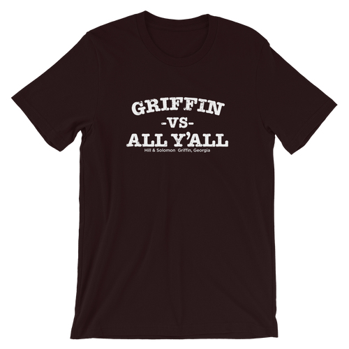Griffin vs All Y'all Short-Sleeve Unisex T-Shirt