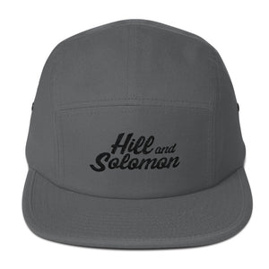 HS Signature Script 5 Panel Camper Hat