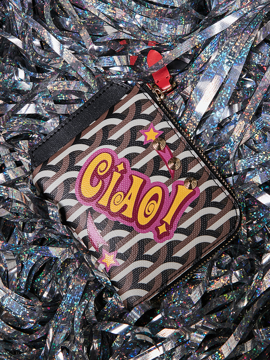 COMPACT WALLET  _ Black - CIAO!