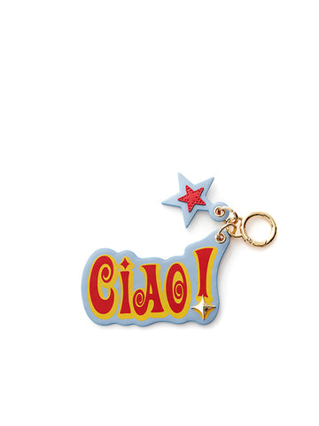 CIAO! KEY RING_Blue