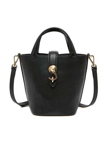 GLINDA BAG _ Solid Black
