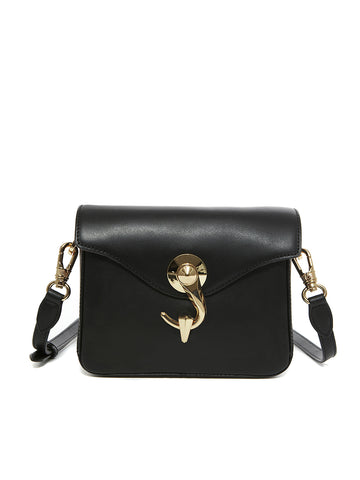 VOLLUTINO BAG _ Small _ SOLID - Black