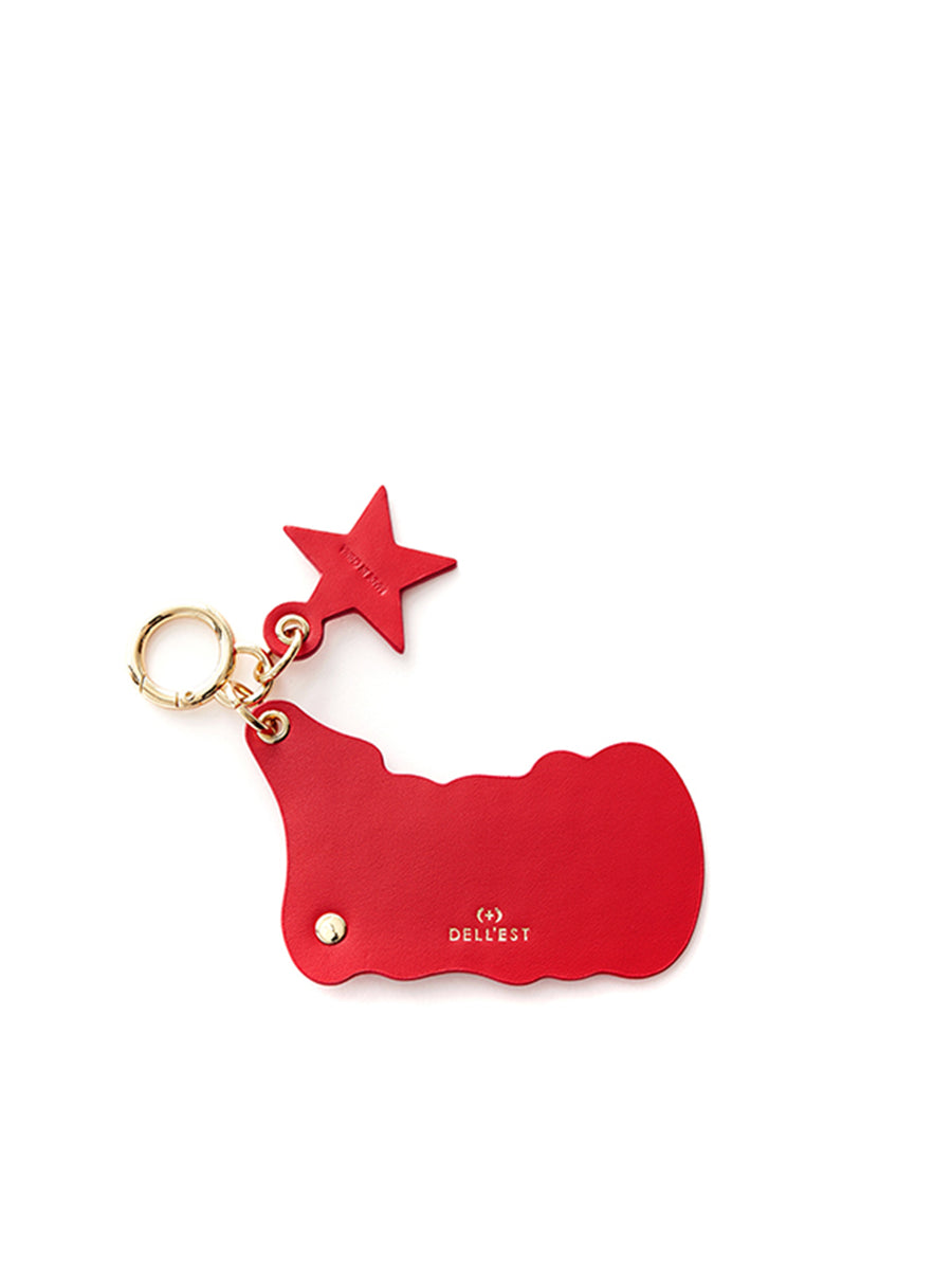 CIAO! KEY RING_Red