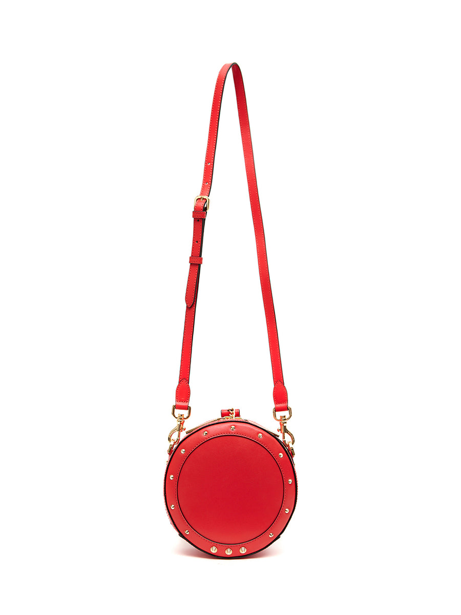 DONUT BAG SOLID - Small _ Red