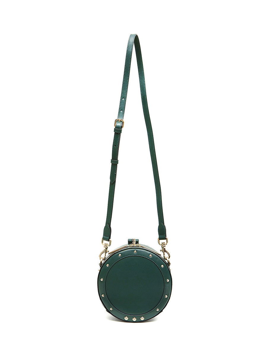 DONUT BAG SOLID - Small _ Moss green