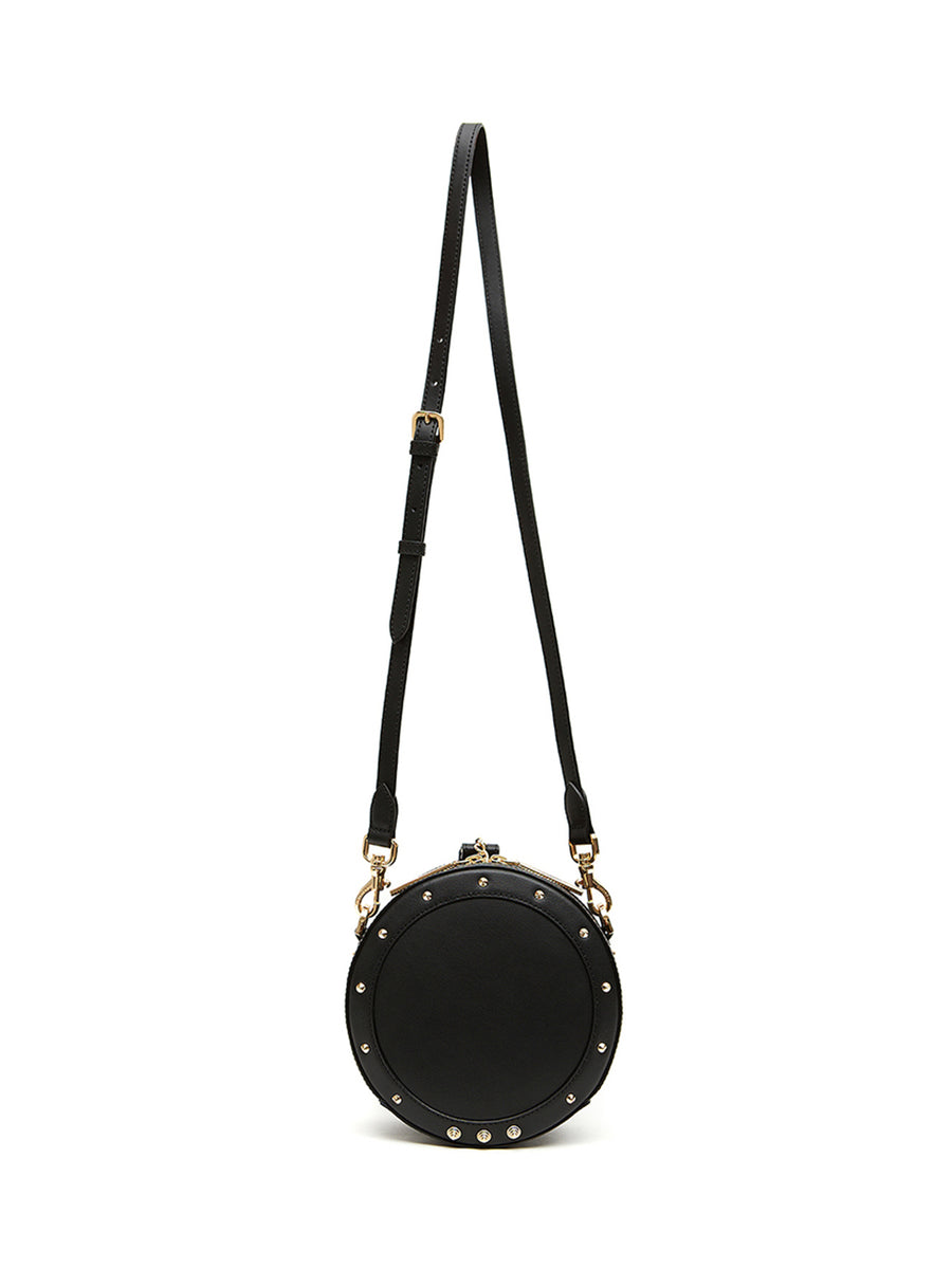 DONUT BAG SOLID - Small _ Black