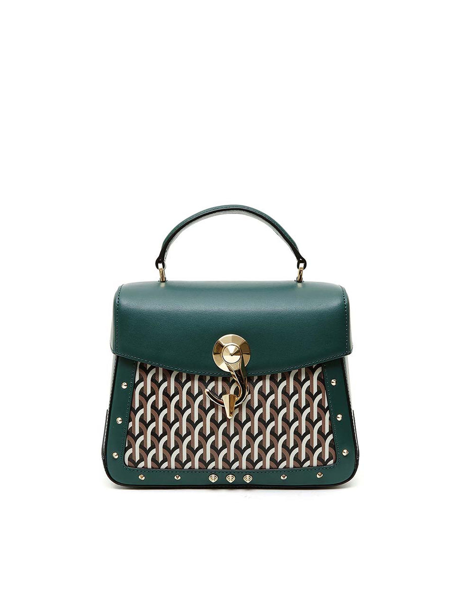 TRUNKINO BAG - Medium - Moss green