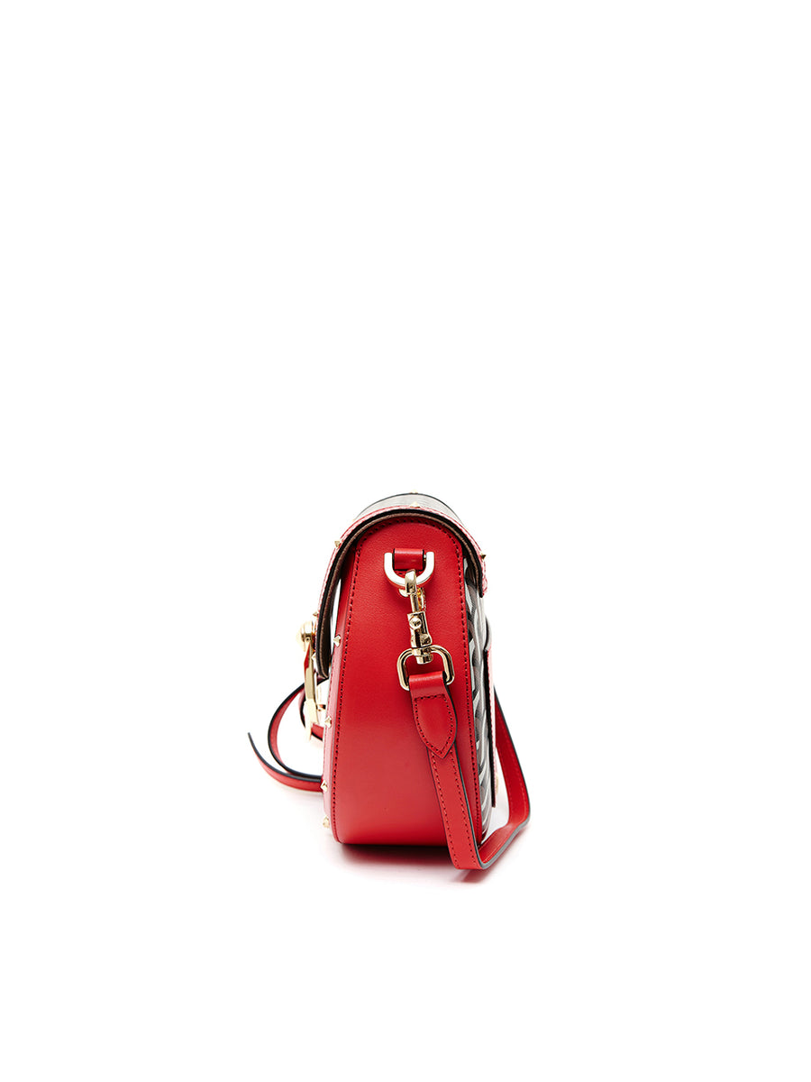 SADDLE BAG - Medium - Red