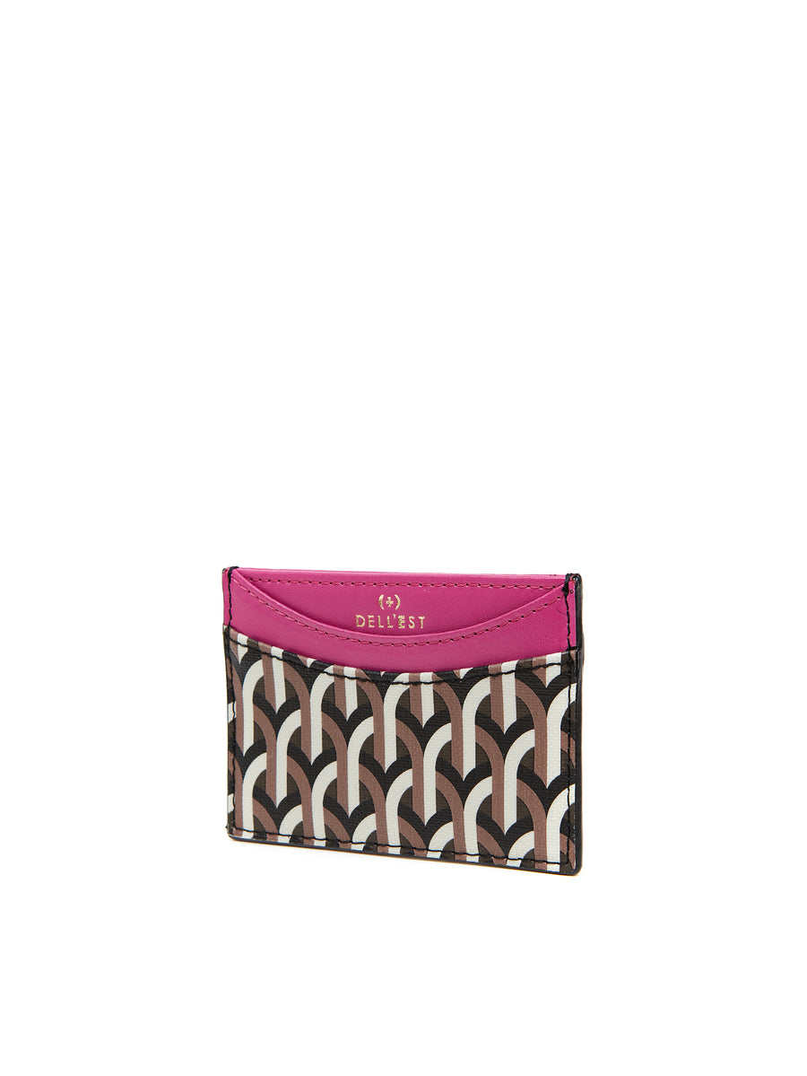 EVERYDAY CARD CASE  _ Fuscia