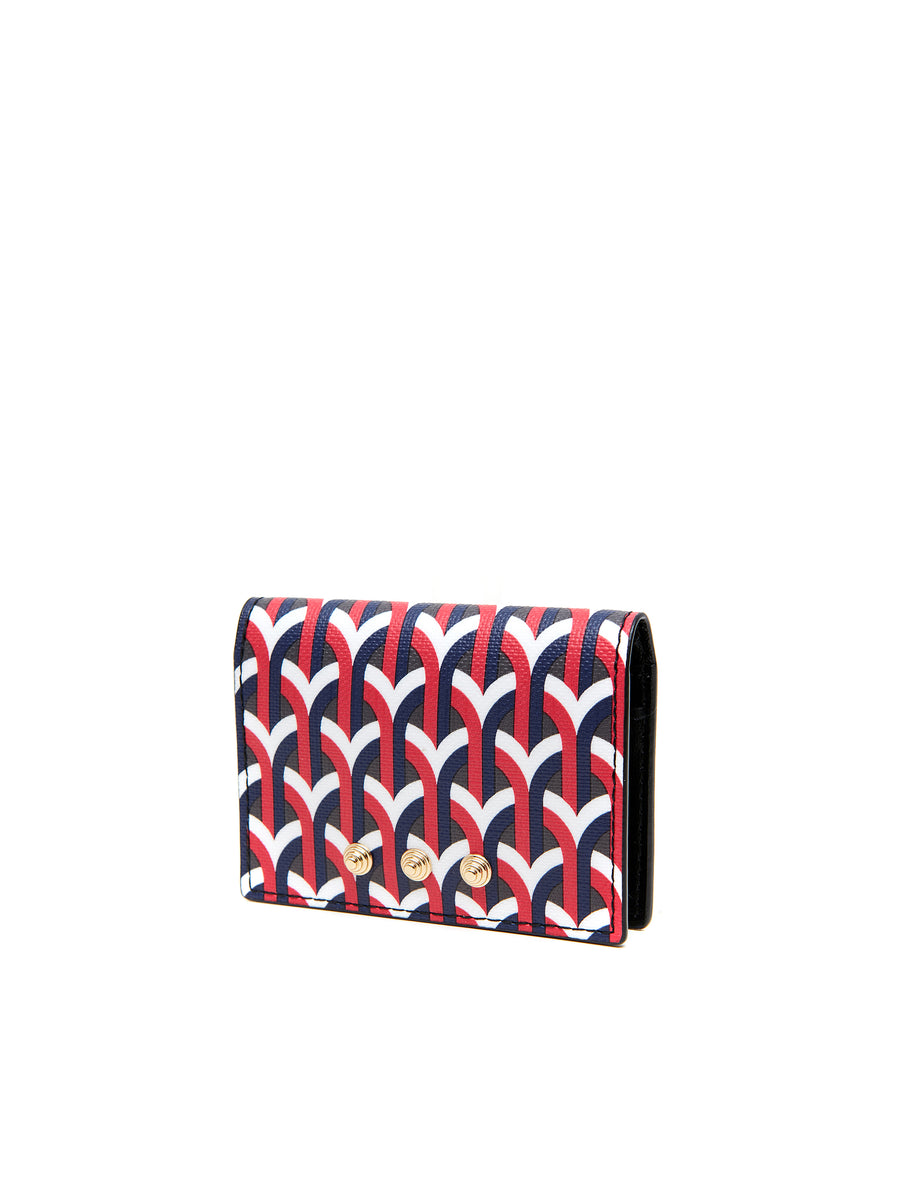 MULTI WALLET - ETNA RED  _ Black