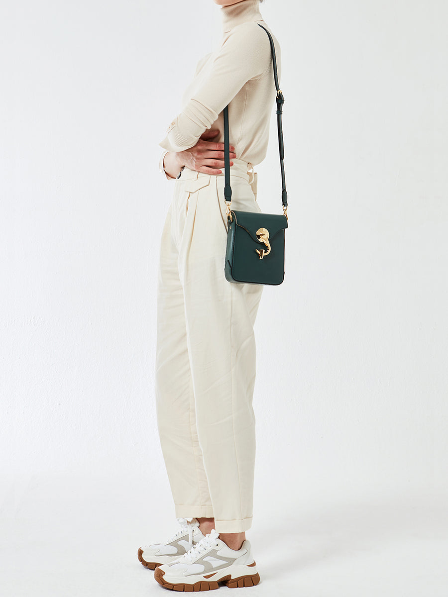 METRO BAG _ Small _ SOLID - Moss Green