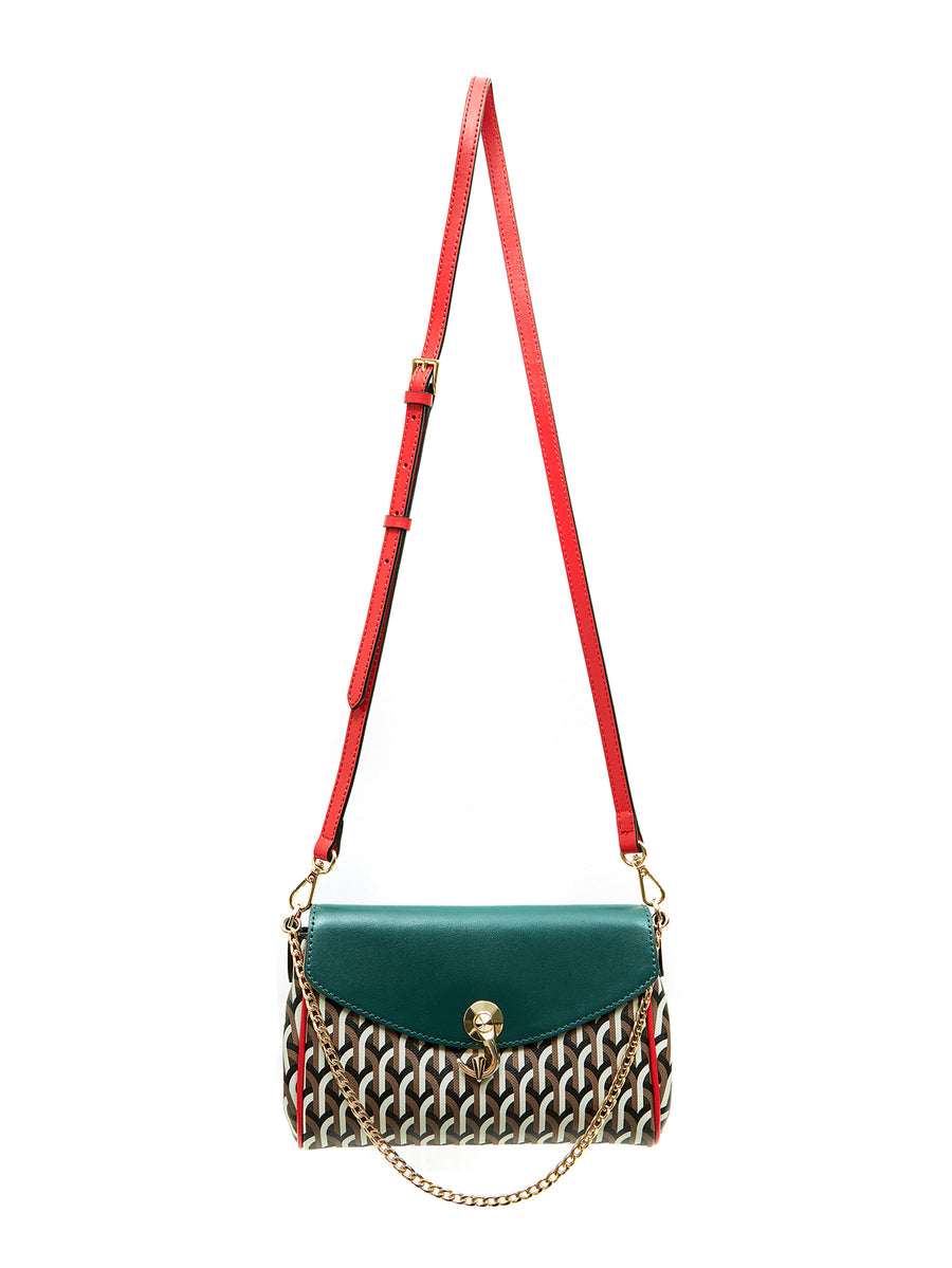 KARA POCHETTE  _ Multi Green