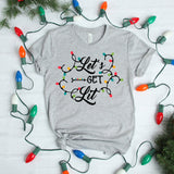 Let's Get Lit Unisex T-Shirt - Flop The World Pop