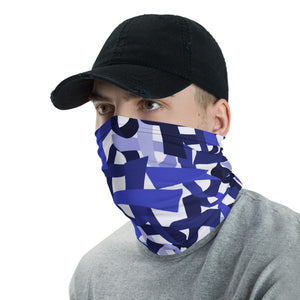 Blue Ribbon Face Mask / Headband