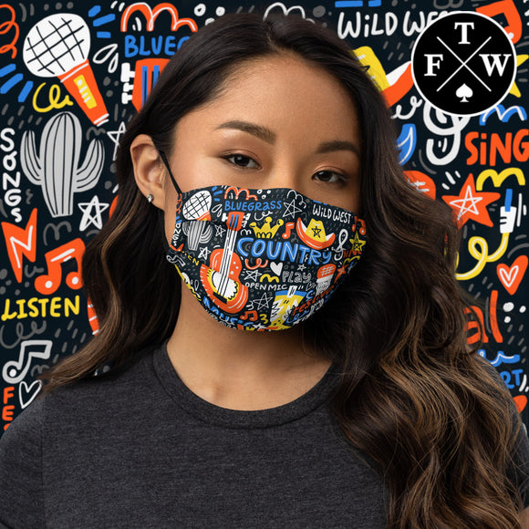 Nashville Face Mask
