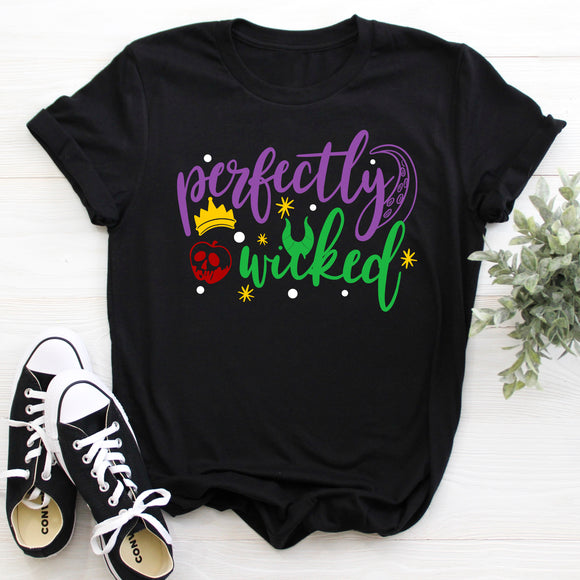 Perfectly Wicked Villains T-Shirt