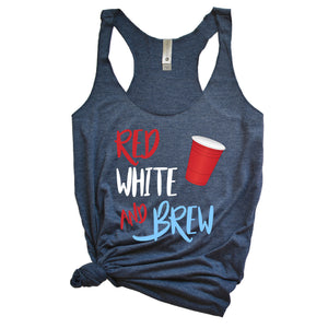Red White and Brew Tank