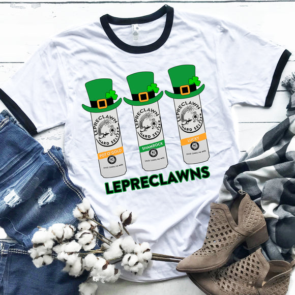 Lepreclawns Ringer T-Shirt