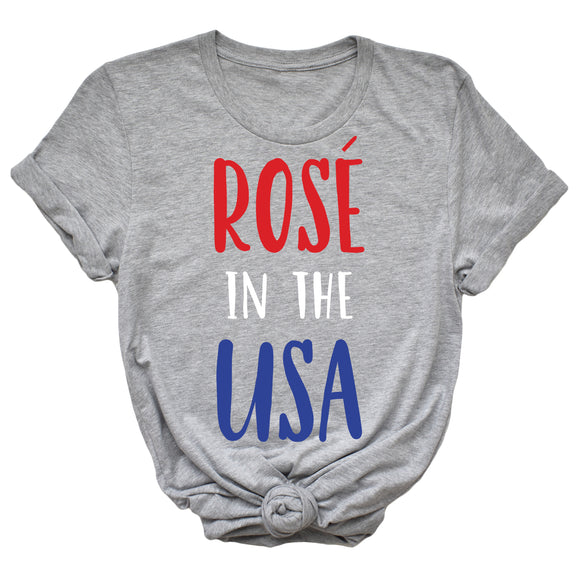 Rose in the USA T-shirt