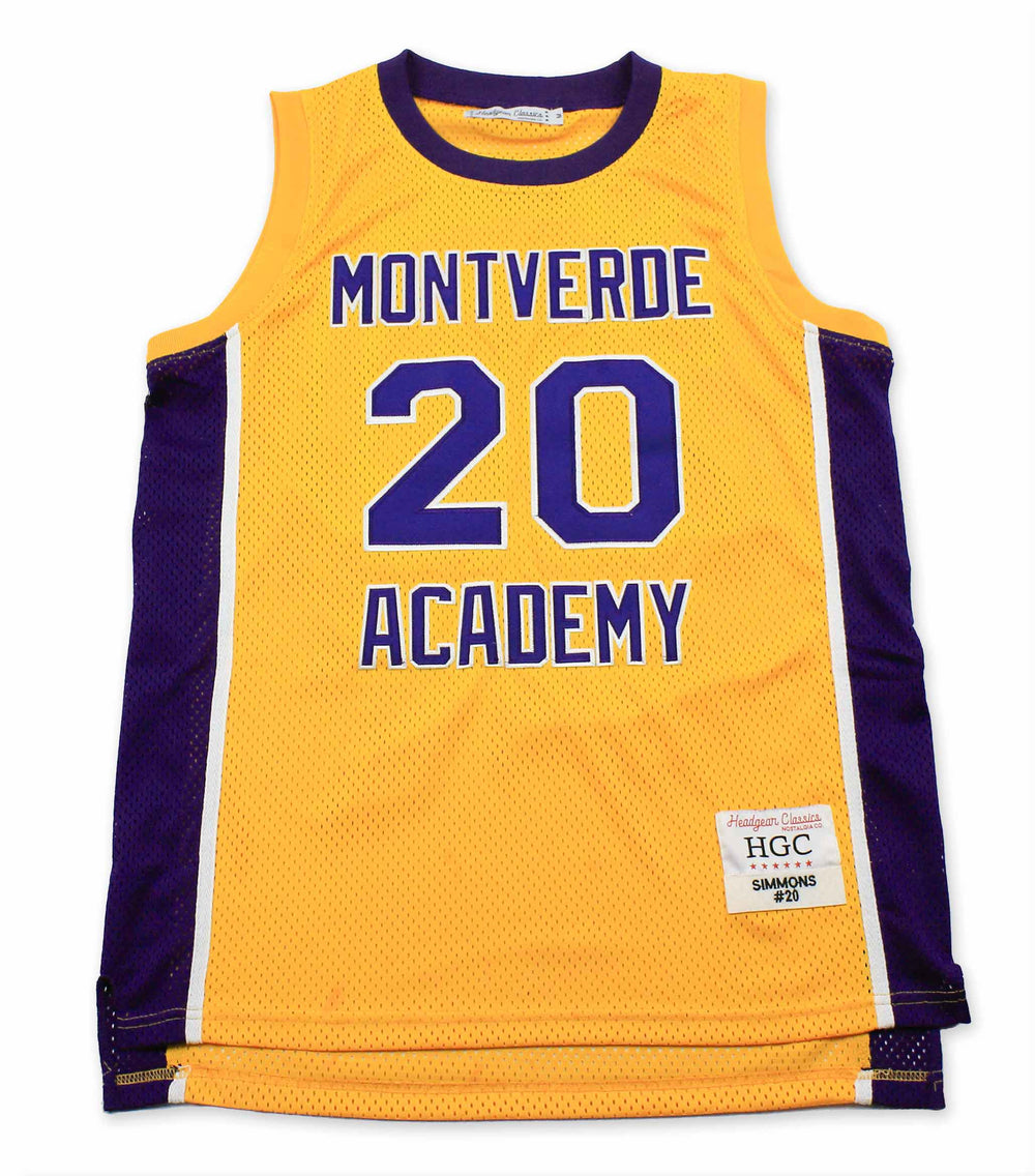 Ben Simmons Montverde Academy Yellow High School Basketball Jersey - shopallstarsports.com