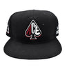 BLACK LOWER MERION SNAPBACKS