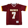 MIKE VICK MAROON HIGH SCHOOL FOOTBALL JERSEY