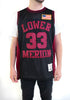 Kobe Bryant Black Lower Merion Alternate High School Basketball Jersey - shopallstarsports.com