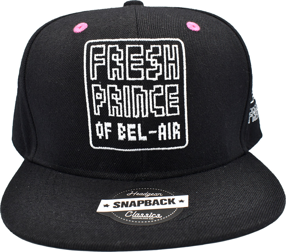 THE FRESH PRINCE OF BEL-AIR 30TH ANNIVERSARY SNAPBACK BLACK HAT
